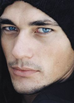 David James Gandy jeepers creepers, where'd you get those peepers? Gorgeous eyes!
