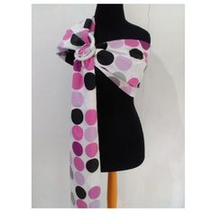 Gendongan Bayi – Baby Carrier With Ring Sling Vitorio Baby Big Polka - http://www.adorababyshop.co/?post_type=product&p=21158