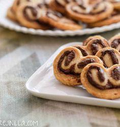 palmeritas de Nutella - Pecados de Reposteria