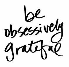 Grateful I am