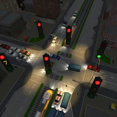 TrafficVille 3D - Keep the traffic flowing, avoid huge car crashes and see how high you can get up on the leader board in this totally addictive 3D game. #appstore
