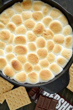 Peanut Butter S'mores Dip is all the fun of S'mores without the camp fire!