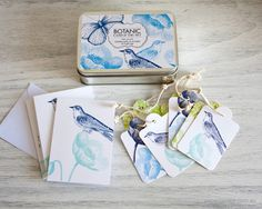 Botanic Card and Tag Set