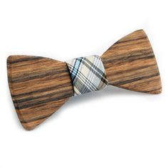 Clyde Wood Bow Tie, $49, now featured on Fab.