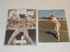 3 Autographs on a 1978 Philadelphia Phillies Program w/ UNSIGNED 8x10 NO COA #Autographs #Philadelphia #Phillies #Program #NOCOA #LonnieSmith #GarryMaddox #GeorgeFrazier