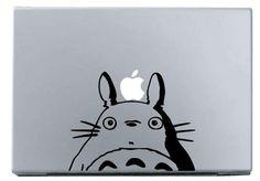 [MacBookAir デコシール] このトトロも良いけども…。ぐぬぬ。