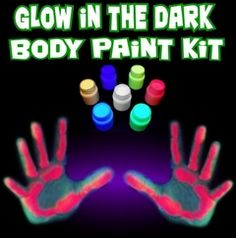 All Glow in the Dark Stuff you could want