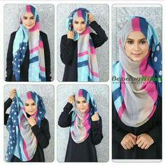 Wide shawl tutorial