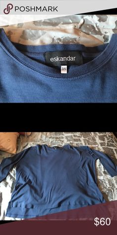 eskandar One size fits most Eskandar Tops Tunics