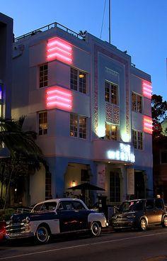 Art Deco style - Miami, Florida