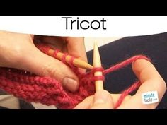 Astuces : rabattre souplement les mailles - YouTube Knitting Videos, Knitting Stitches, Knitting Projects, Diy Tricot Crochet, Tunisian Crochet, Tricot Simple, Tips & Tricks, Needlework, Sewing