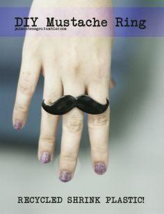Anillo mustache!