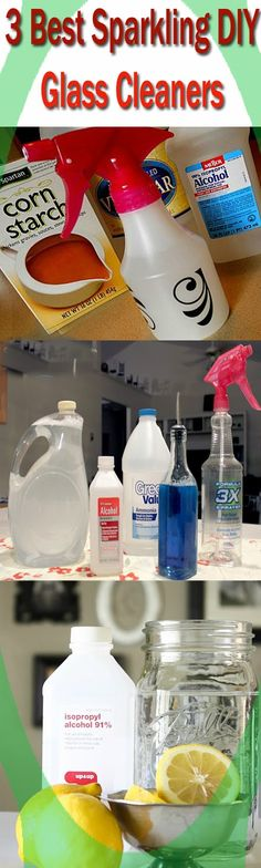 3 Best Sparkling Homemade Glass Cleaners