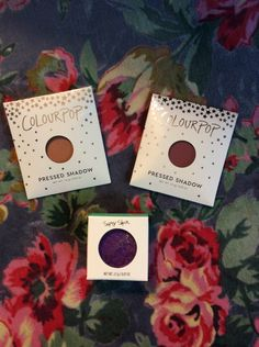 This was my last delivery from colourpop from their sale plus free international shipping no minimum, unfortunately it was bitter sweet as the two pressed shadows were probably my favourite, the Su…