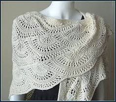 angel wings prayer shawl crochet pattern - Google Search