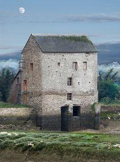 Old Tidal Mill outside Dinard ~