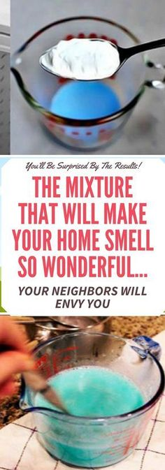 THE MIXTURE THAT WILL MAKE YOUR HOME SMELL SO WONDERFUL… YOUR NEIGHBORS WILL ENVY YOU !!!