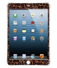 Loving this Leopard Screen Protector for iPad mini on #zulily! #zulilyfinds