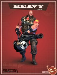 team fortress 2 meet the female heavy weight