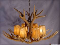 AuBergewohnlich Anthropologie Shed Antler Chandelier Hack. Anthrou0027s Version Is $2000. The  DIY Version Is Only $200. Done. | Home Ideas | Pinterest | Antlers, ...