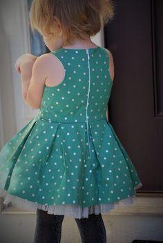 Mingo and Grace Pattern - Grace - PDF Sewing Pattern - #children Dress