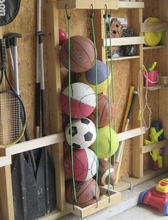 How+to+Organize+Every+Last+Inch+of+Your+Garage+via+@PureWow