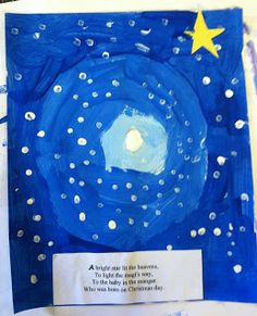 ART with Mrs. Smith: Christmas Art 2012 - RoundUp! (some great Christian school projects)