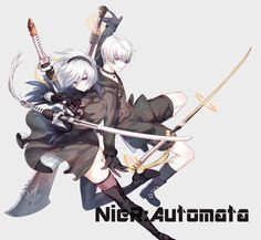 NieR: Automata 2B 9S