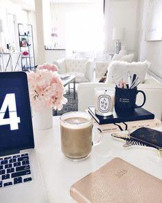 Decorate your office desk Man Blondie In The City Desk Space Instagram hayleylarue Desk Inspo Desk Pinterest 94 Best Office Desk Decor Images In 2019 Desks Office Home