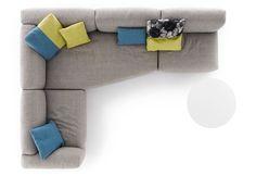 Sofa Top View Italia sofas design at