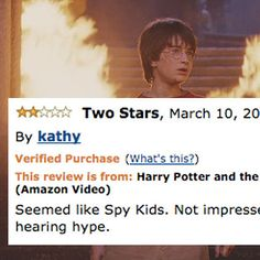 "21 Negative ""Harry Potter"" Amazon Reviews That Are Way Too Funny"