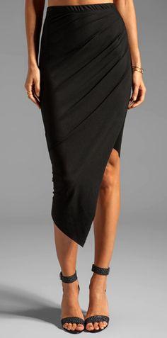 Black Sia Skirt