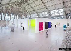Anselm Reyle Exhibition @ Deichtorhallen, Hamburg | Afflante.com
