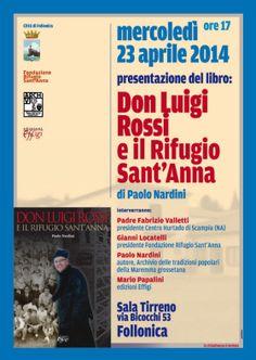 Utilize rap! Again!: Don Luigi Rossi e il rifugio Sant'Anna  di Paolo N...