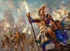 Archetype of Courage Art