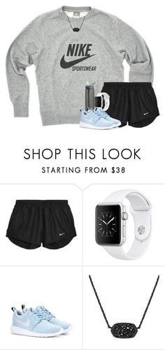 """""""I would be lying if I said that I could live this life without you"""" by your-daily-prep ❤ liked on Polyvore featuring CamelBak, NIKE and Kendra Scott"""