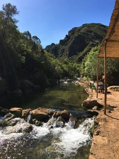 How to get to Akchour Waterfall from Chefchaouen on a day trip with public transport. What to expect from the hike and what to bring with you. Beautiful Pools, Beautiful Places, Swimming Gear, Main Attraction, Countries Of The World, Public Transport, Hiking Trails, Day Trip, Morocco
