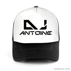 Antoine Trucker Hat for men or women. Available color black, red, pink, green. Shop more at ARDAMUS.COM #djtruckerhat #djcap #djsnapback #djhat