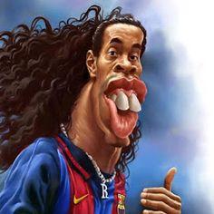 Ronaldinho por Amir Taqi