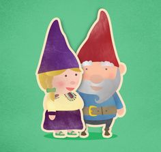 FINO & SHAJI, Gnome Couple by  Amrit Pal Singh, via Behance