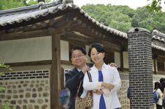 선정릉에서 지니와 20140511