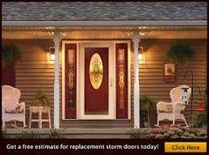 front door with storm door - Google Search