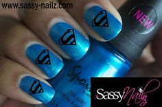 Hey, I found this really awesome Etsy listing at https://www.etsy.com/listing/150739771/superhero-nail-art-dress-up-superman