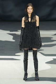 Fall Color Trends: Chanel Fall 2013 #fashion #fall