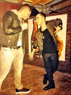 With the kickbox legend rico verhoeven