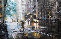 Mark Lague, oil