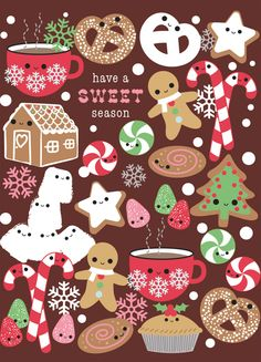Jillian Phillips for Madison Park Greetings -Holiday Sugar Glitter Notes
