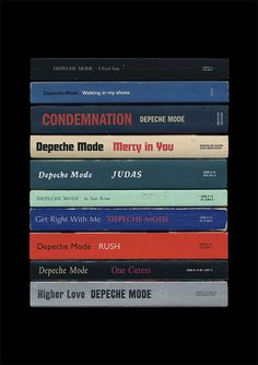 Depeche Mode Songs of Faith And Devotion Poster by StandardDesigns