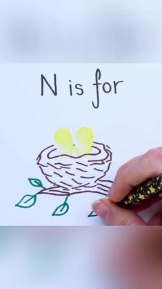 the kids their ABC with this fingerprint doodle alphabet! Alphabet Drawing, Doodle Alphabet, Alphabet Crafts, Alphabet Art, Alphabet For Kids, Easy Drawings For Kids, Art For Kids, Kids Fun, Tree Drawing For Kids