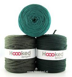 Hoooked Zpagetti Inspiratie Set Forrest Fever van Hoooked Outlet op http://nl.dawanda.com/ #handgemaakt #diy